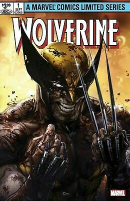 Wolverine #1 Marvel 2020. Clayton Crain Trade Dress Limited to 3000 Copies.