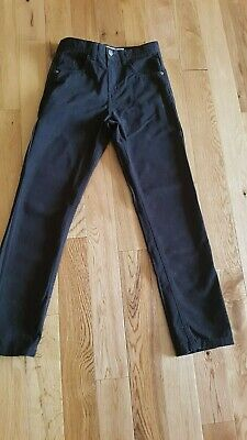 Primark Boys Slim Black Canvas Jeans Ages 10 - 11 Years