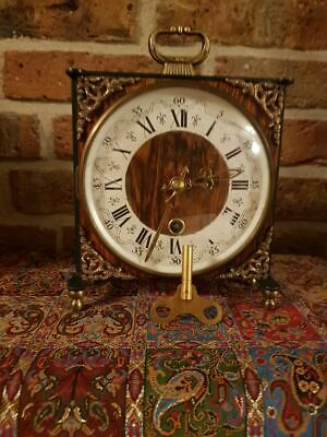 Vintage Orfac Dutch Table clock, Rare Model from 1971