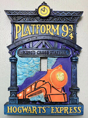Harry Potter Vintage Collectible Hallmark Hogwarts Express 9 3/4 Switch Cover