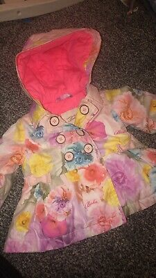 Ted Baker Baby Girls Pink Floral Lightweight Hooded Coat 0-3 Months