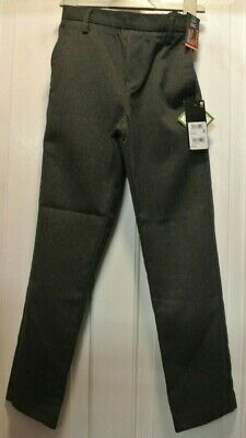 New Boys Next School Teflon Pull on Trousers Grey  size 9 years slim fit