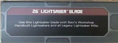 "26"" Lightsaber Blade Star Wars Galaxy's Edge For Legacy Hilt Disney Official NEW"