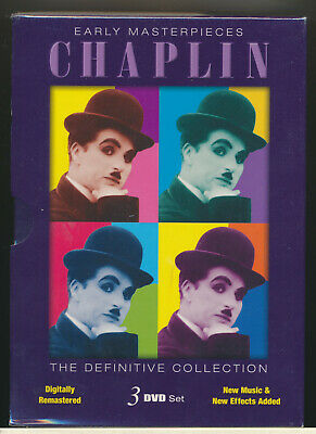 Charlie Chaplin – Early Masterpieces (1915-1917) The Rink / The Bank Etc.