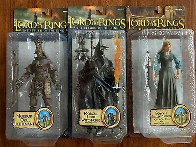 Lord Of The Rings action figures Epic Trilogy (Toybiz) 3 x Rare Figures
