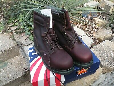 Thourogood work Boots Hi tops leather safety toe 10 EEE NEW