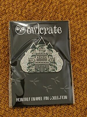 Owlcrate December Box Enamel Pin