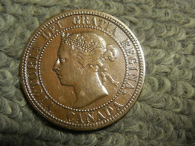 1887 Canadian Large Cent in VG condition.  But you decide!!!!!!!!!!!!!!!!