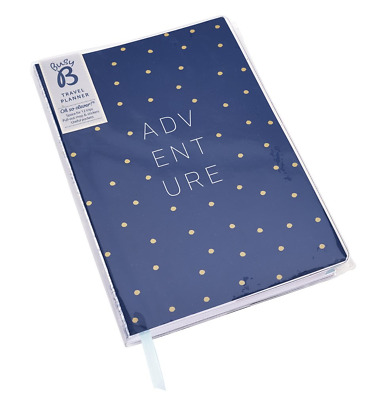 Busy B Travel Holiday Planner with Pockets/Waterproof Cover