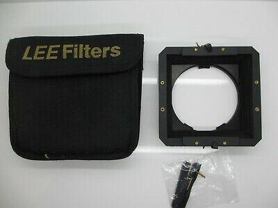 Lee Filters Universal Lens Hood for the 100mm System Plus comes with case.