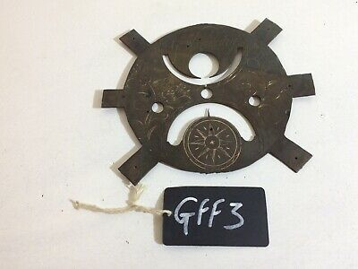Antique Longcase Grandfather Clock Face - 18Th C - Signed G. Womersley (Gff3)