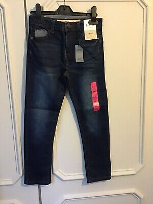 Boys Primark Skinny Jeans Blue Denim Age 8-9 Years BNWT.