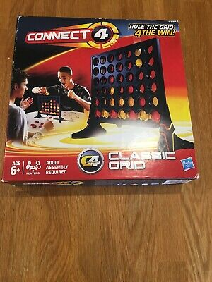 Hasbro Connect 4 Classic Board Game. 2012 edition. Used but VGC.