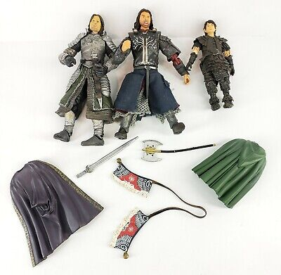 Lord of The Rings Nazgul Action Figure 2003 NLP Inc Marvel Lot 3 & accessories