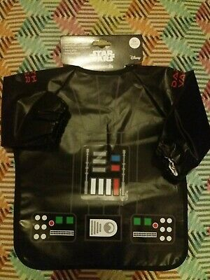 DARTH VADER MOTHERCARE STAR WARS 2 X COVERALLS * NEW 9 MONTHS