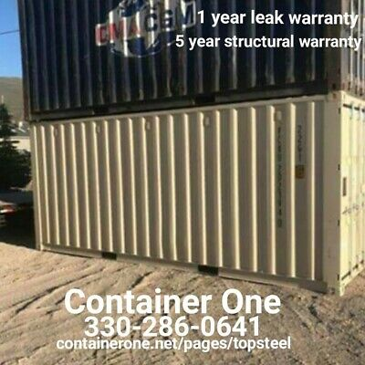 20 And 40 Steel Conex / Storage / Shipping Containers In Charleston SC