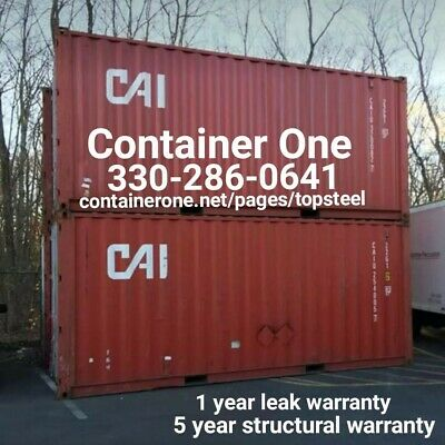 20 And 40 Steel Conex / Storage / Shipping Containers In Cincinnati OH