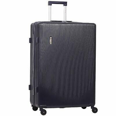 """5 Cities 29"""" Lightweight ABS Hard Shell Hold Check in Luggage Suitcase 4 Wheels"""