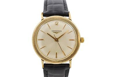 Vintage Longines Classic Gold Plated Hand Wind Midsize Watch 1585