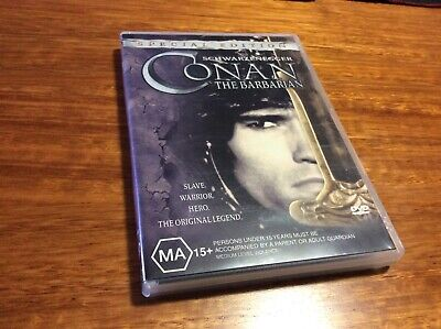 Conan the Barbarian DVD Region 4