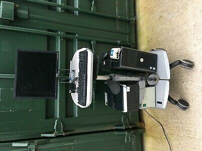 VNG Ulmer System/Work Station with Monitor,Keyboard, CPU,Printer and Accessories