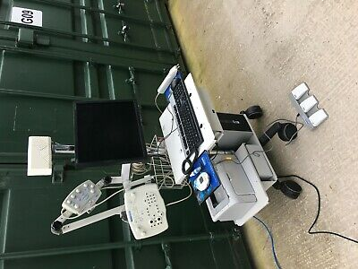 Viasys Healthcare Medelec Synergy EMG & Evoked Potential Response Unit on Trolle