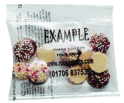 Jazzles Snowie Chocolate Packs Business Personalised Promo Favour Gift 20g Halal