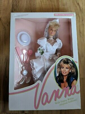 1991 Home Shopping Club Vanna White In Wedding Dress Doll