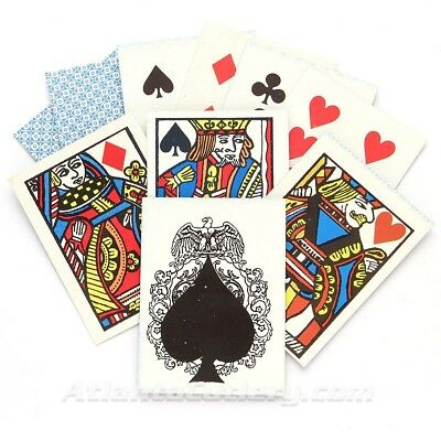 """""""SASS COWBOY"""" Playing Cards Old West Poker/Faro Replica Deck"""