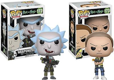 Rick and Morty Funko Pop! Animation Bundle - New in Box - TV Figurines
