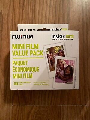 Instax Fujifilm Mini Film 9 Instax Value Pack 60 Film Exposures
