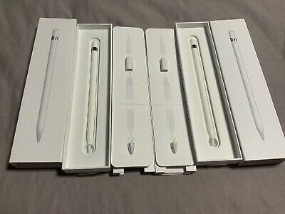 2 Apple Pencil for iPad Pro and iPad 6th Gen. White Model A1603