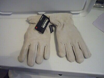 Ladies Thinsulate 100 Gram Leather New Gloves  Warm Fleece Lined New Wtags!!