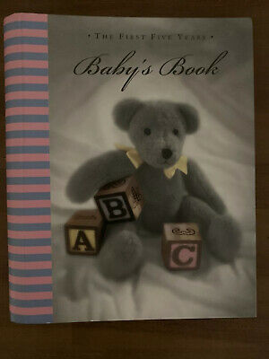 The First Five Years Baby Book Journal Notebook New