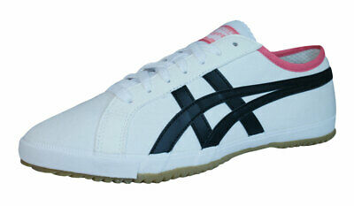 Onitsuka Tiger Retro Glide CV Kids Trainers / Shoes - White - D317N See Sizes