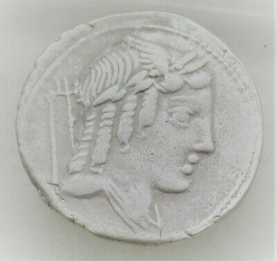 Unresearched Ancient Roman Silver Coin