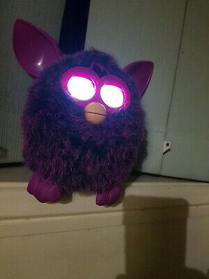 Furby Purple Interactive Electronic Pet Toy Battery Operated Hasbro 2012