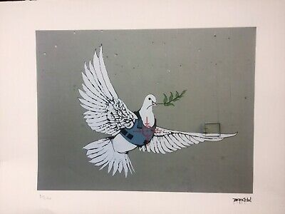 Banksy - Lithographie Signed  Numbered on 150 - Certificat