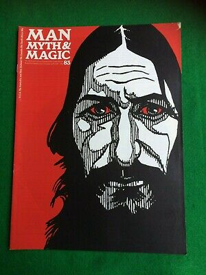 Man Myth and Magic magazine Occult Supernatural No.83