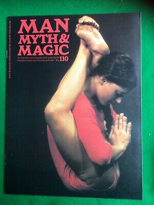 Man Myth and Magic magazine Occult Supernatural No.110