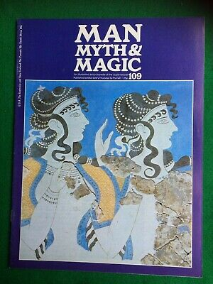 Man Myth and Magic magazine Occult Supernatural No.109