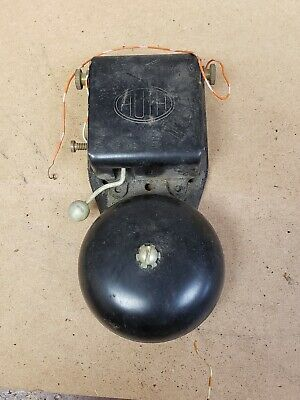 Vintage Old Industrial Electric Door Fire Alarm Butler Bell Untested