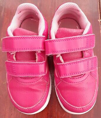 Adidas Girls Infant Size 8.5K. Trainers, Pink