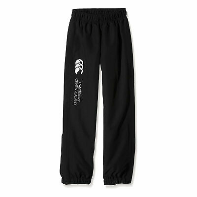 CCC Canterbury Stadium Pants Black Cuffed Hem (Kids ages 8/9,10/11 & 12/13)