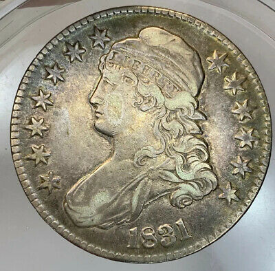 1831  Capped Bust Half Vf / Xf