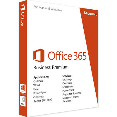 Microsoft Office 365 2019 Pro Plus | Account for 5 devices Mac Win |  5 TB Cloud