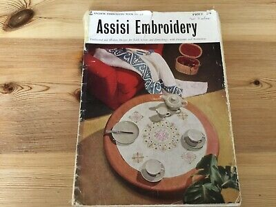 Vintage Assisi Embroidery. Anchor. Book No.518. Price 2/6.