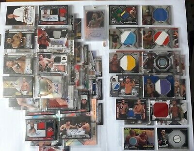 Big lot MMA UFC card auto legend - Conor Mcgregor, Khabib, GSP, Jon Jones, etc