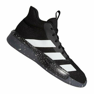 Details about Adidas Men Pro Next 2019 Shoes Basketball Black Casual Sneakers Boot Shoe G54444