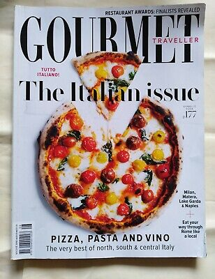 AUSTRALIAN GOURMET TRAVELLER Magazine August 2018 - THE ITALIAN ISSUE